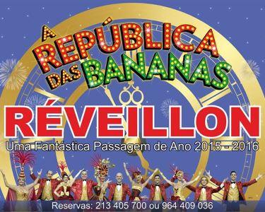 Réveillon Especial c/ República das Bananas   Teatro Politeama