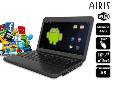 Portátil Airis® Kira 10' | Táctil e Acessível!
