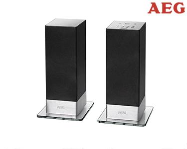 AEG Sistema de Som Bluetooth | Reprodução Sem Fios até 15m!