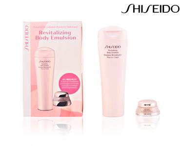 Pack Loção Corpo 200 ml e Creme Rosto 7 ml Shiseido® | Para Mulher