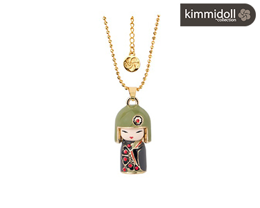 Colar Kimmidoll® Hiro com Swarovski | Generosidade