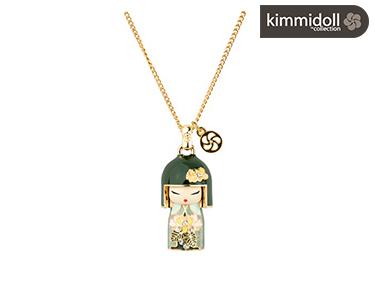 Colar Kimmidoll® Tsuki com Swarovski   Optimista
