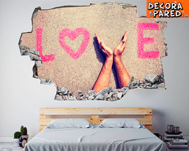 Vinil Love Amazing 3D Design | Escolha o Seu