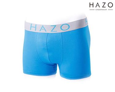 Pack 6 Boxers Hazo® | Turquesa, Roxo e Azul Royal