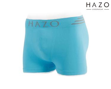Pack 6 Boxers Hazo® | Turquesa, Cinza, Preto
