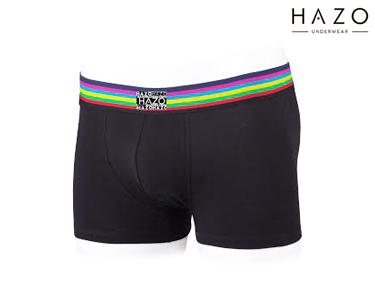 Pack 6 Boxers Hazo® | Preto e Azulão