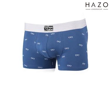 Pack 6 Boxers Hazo® | Petróleo e Cinza
