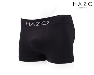 Pack 6 Boxers Hazo® | Preto, Cinza e Azulão