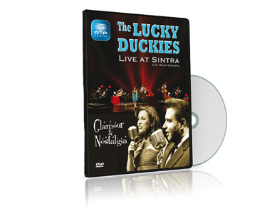DVD The Lucky Duckies Glamour & Nostalgia | Live at Sintra