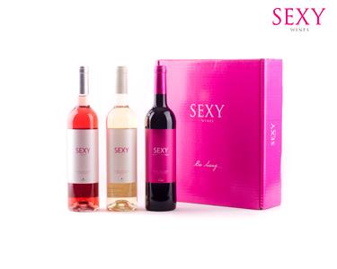 Pack Sexy Wines | 1 Sexy Tinto, 1 Sexy Branco & 1 Sexy Rosé