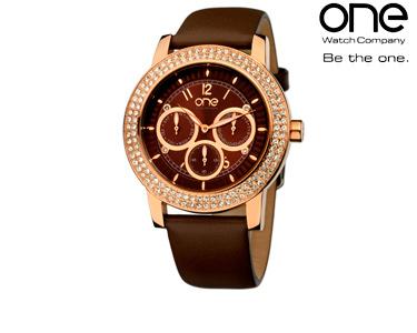 Relógios One® Senhora | Shine Castanho