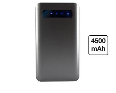 PowerBank XXL 4500mAh   Caixa Metal Preta