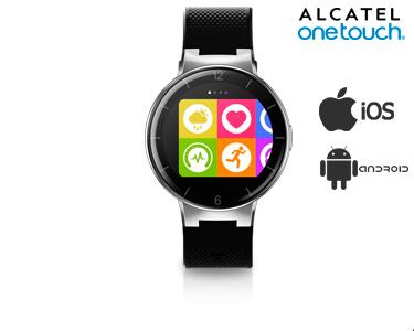 Smartwatch Alcatel® Onetouch Watch 2GB | Preto e Vermelho