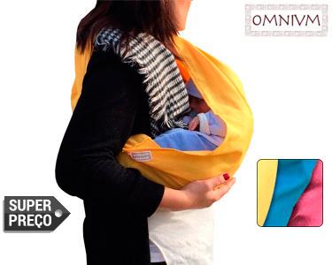 Baby Sling Omnivm | Conforto para o Bebé | Escolha a Cor