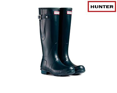 Galochas Hunter® | Original Adjustable Azul Escuro