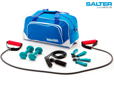 Kit Diversificado Salter®   com Saco de Ginástica