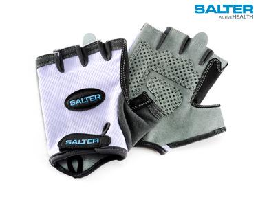 Luvas Azuis de Fitness Salter®| Escolha o Tamanho