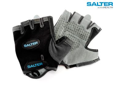 Luvas Pretas de Fitness Salter®| Escolha o Tamanho