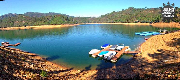 Aldeias do Xisto (Água Formosa) - Casas de Xisto c/ Praia Fluvial: 5 a 7 Nts até 6 Pessoas