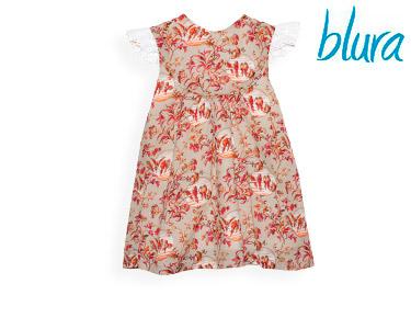 Vestido Castanho Blura® c/ Pássaros | Escolha o Tamanho