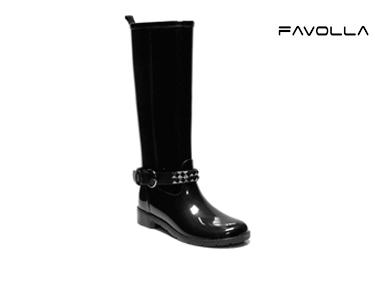 Galochas Favolla® Ribot c/ Fivela | Preto