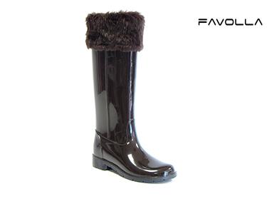 Galochas Favolla® Ribot c/ Pêlo | Castanho