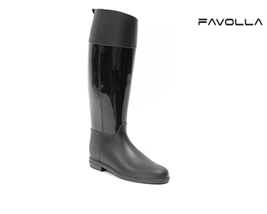 Galochas Favolla® Lucky | Preto