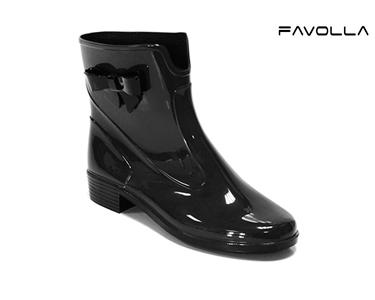 Galochas Favolla® 104 c/ Laço| Preto