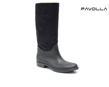 Botas Favolla® Texas c/ Pêlo de Carneiro | Preto