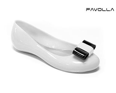 Sabrinas Favolla® Venus c/ Laço | Preto e Branco