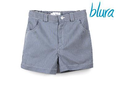 Calções Blura® c/ Riscas Azuis | Escolha o Tamanho
