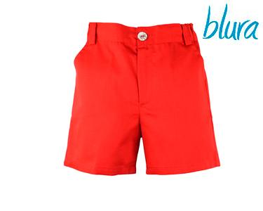 Calções Blura® Vermelhos Menino | Escolha o Tamanho