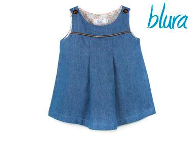 Vestido Blura® Azul Denim | Escolha o Tamanho