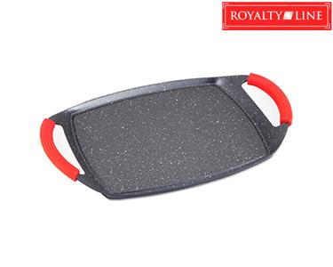 Placa p/ Grill Royalty Line® em Mármore | 47 Cms