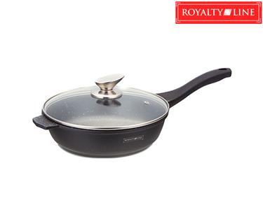 Frigideira Fry Pan Royalty Line® c/ Tampa de Vidro