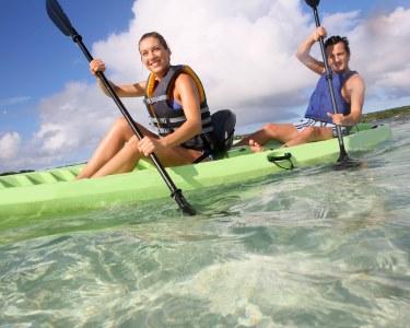 Passeio de Kayak para Dois na Lagoa de Óbidos | Fantástico!
