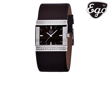 Relógio Ego® Diva | Castanho Mulher