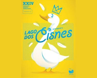 «Lago dos Cisnes» - Bilhete Duplo | 13 de Março | Teatro Bocage