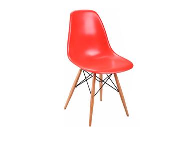 CadeiraTower Wood Vermelho