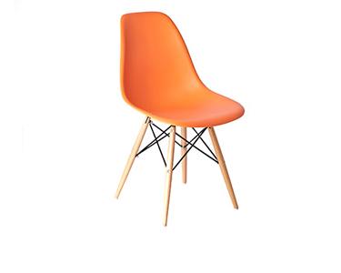 Cadeira Tower Wood Laranja