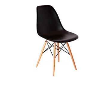 CadeiraTower Wood | Preto