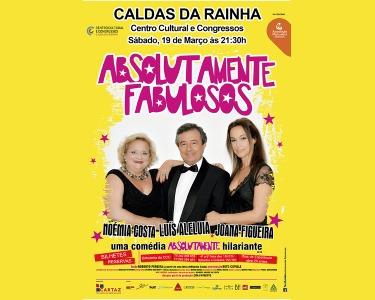 «Absolutamente Fabulosos» com Luis Aleluia | Centro Cultural Caldas da Rainha