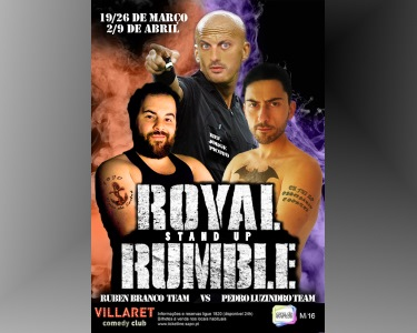 «Royal Stand Up Rumble»   Pedro Luzindro vs. Rúben Branco   Villaret