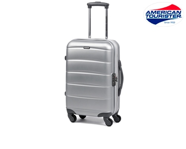Mala American Tourister® Oceanside | Spinner Cinza S Cabine Size