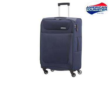 Mala American Tourister® Sacramento | Spinner Azul Marinho M