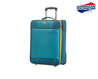 Mala American Tourister® Ocean Grove | Cabine 55cm Azul Petróleo