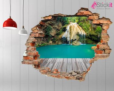 Vinil Design 3D   Cascata