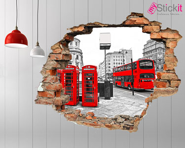 Vinil Design 3D | Londres