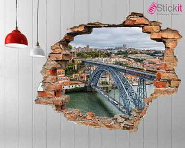 Vinil Design 3D | Ponte D.Luís