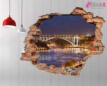 Vinil Design 3D | Porto à Noite